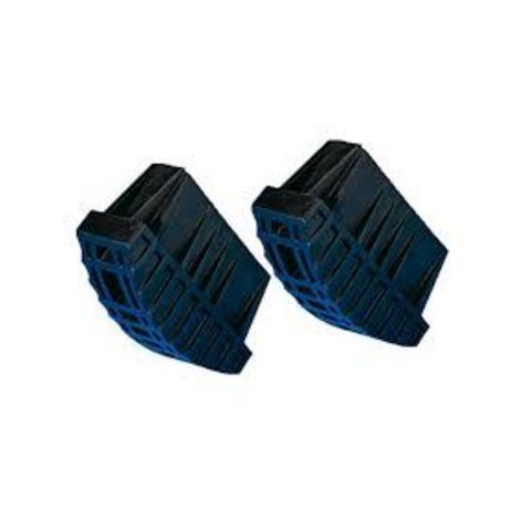 Paire de Sabot caoutchouc TUBESCA pour pied échelle 90 mm - 9007009