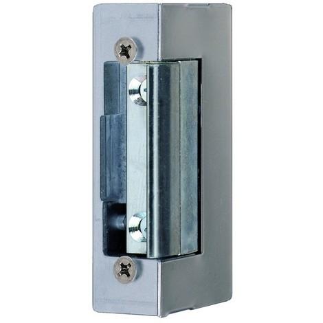 Gâche électrique EFF EFF à larder - 10/24V à émission - Sans têtiere, contact stationnaire - SPE74E