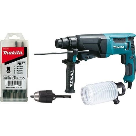 Perforateur MAKITA SDS-Plus 720W 23 mm - HR2300X9