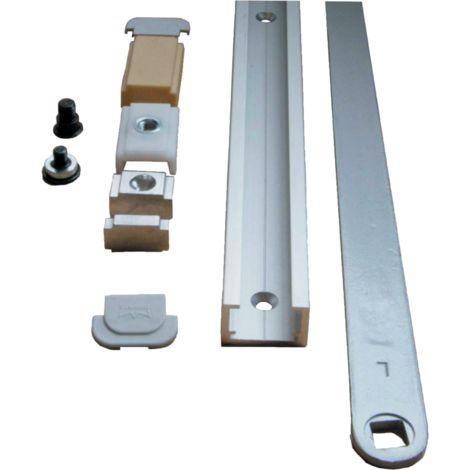 Bras à coulisse ITS96 G96N DIN L DORMA compatible avec dispositif d'arrêt - 52001901