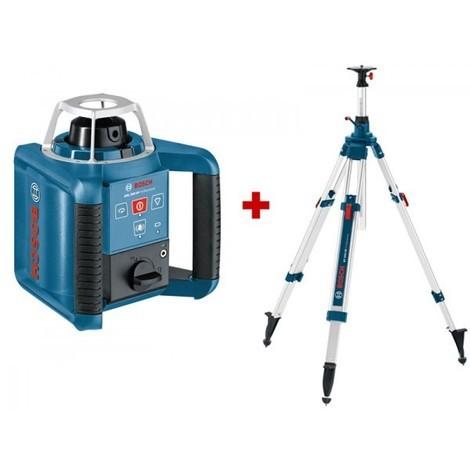 Pack intérieur : Laser Rotatif automatique BOSCH GRL 300 HV + Trépied 2.95M BT300 - 061599403X