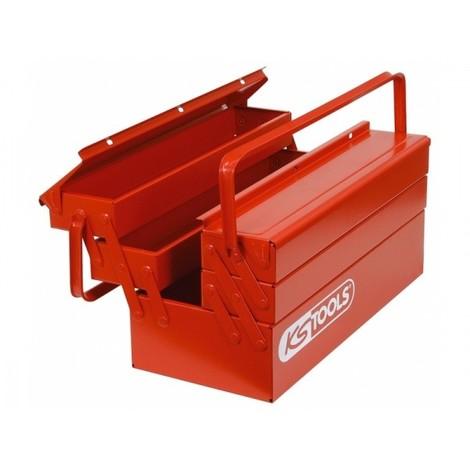 Caisse à outils métallique KS TOOLS - 430 x 200 x 200 mm - 999.0120