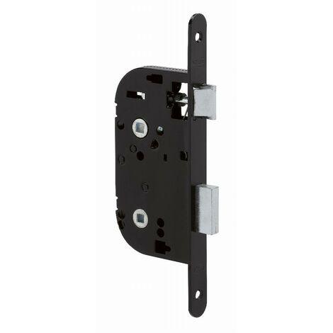Coffre axe 40 NF métalux Bec de cane condamnation gauche noir EURO-ELZETT - sans gâche réversible - G841X077K4L ROZ