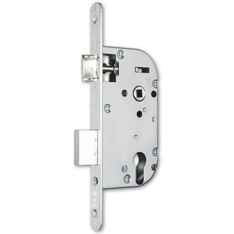 Coffre axe 50 NF métalux clé I gauche aspect inox EURO-ELZETT - sans gache réversible - G838E2D7K4L ROZ
