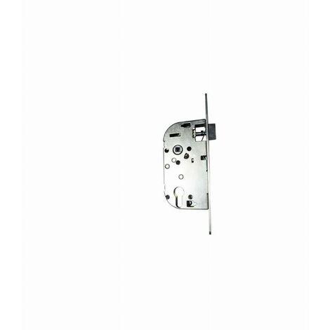 Coffre axe 50 NF métalux bec de cane aspect inox gauche EURO-ELZETT - sans gache réversible - G848E2D7K4L ROZ