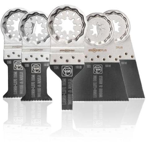 Set de 5 lames E-Cut FEIN - 35222942140