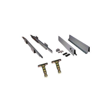 Kit complet coté tiroir Vantage EMUCA - 350mm - 4196025