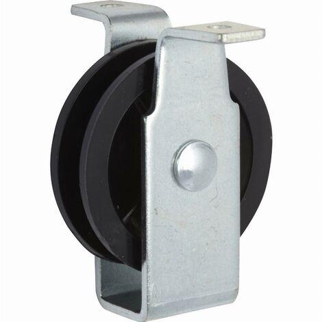 Poulie à platine vissable Ø40 mm VISO - PPV041NP