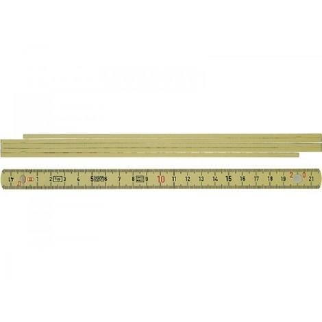 Mètre pliant polyamide WIHA - 2 m - 27055
