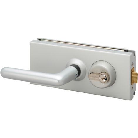 Serrure porte en verre METALUX à béquille double - NM8245H400