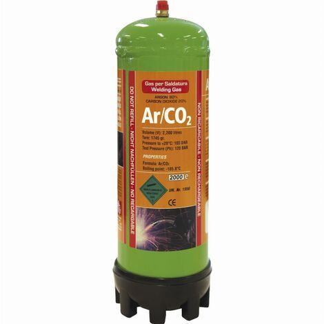 Cartouche jetable 2.2L Argon/CO2 GYS - 043671