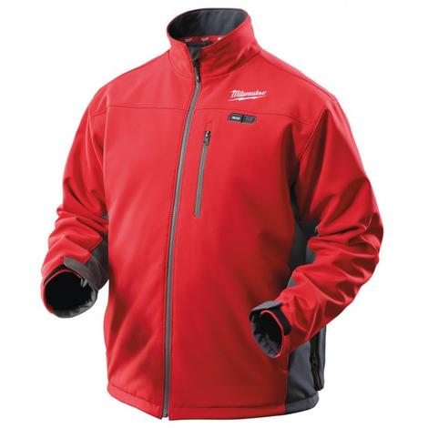 Veste chauffante rouge M12 HJ0 MILWAUKEE sans batterie - T.XXXL - 4933427431