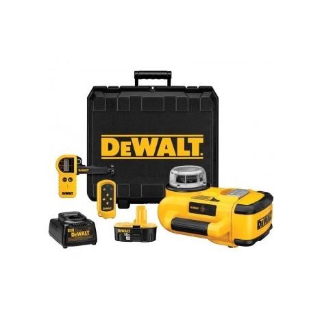 Laser rotatif DEWALT à nivellement automatique - malette de transport + accessoires - W078KH