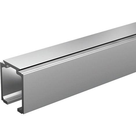 Rail alu pour SAF40/SAF80 MANTION pour porte 40/80kg - L.2 m - 11108/200