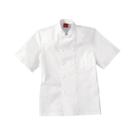 Veste de cuisine blanche 100% coton LAFONT - Taille 3 (48-50) - 2FCA00COBLANCT3