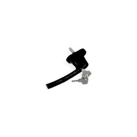 Poignée oscillo basc. Ovalfiliz PRODIF à clé alu - C7x35mm 2 vis 5x40 - Noir - APBOFL8022