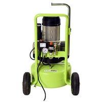 Compresseur AC33024 AERFAST - cuve 24L bicylindre sans huile 20m³/heure - AFN0004
