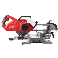 Scie à onglet radiale Ø216 mm MILWAUKEE M18 SMS216 - sans batterie ni chargeur - 4933471057