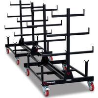 Rack mobile 2 tonne Piperack ARMORGARD 1000x1500x1560 mm - PR2