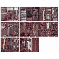 Servante d'atelier Pro-Line extra-largo KRAFTWERK 12 tiroirs 550 outils - 3936-4920F