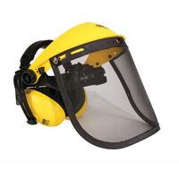 Visière grillagée avec protège oreilles OREGON - Q515061