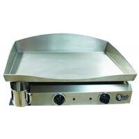 Plancha électrique ELECTICA 2 résistances - Plaque INOX, caisson Epoxy - PL6