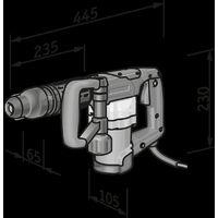 Marteau piqueur DH 5 SDS Max + FHE 2-22 SDS Plus FLEX - 920335