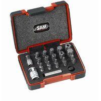 Coffret 23 embouts torx plus et adaptateurs SAM - EMB23CX