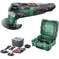 Outil Multifonction BOSCH PMF 250 CES 250W + SystemBox Taille S + Jeu d'accessoires universel - 0615991FG9