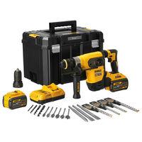 Perforateur SDS-Plus XR Flexvolt 54V DEWALT 4,5J + 2 batteries 3Ah + coffret Tstak - DCH417X2-QW