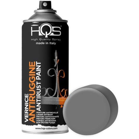 Bombe de peinture sous couche fer antirouille gris