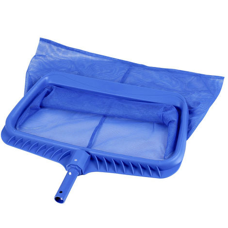 Recogehojas de fondo profesional con bolsa azul de plásticode 50x30 cm