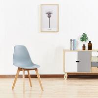 Chaise scandinave grises - Onir - Designetsamaison - Gris