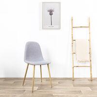 Chaise scandinave grise - Romano - Designetsamaison - Gris