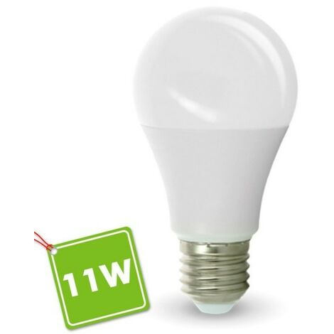 Bombilla LED E27 11W 1055Lm Eq 90W | Temperatura de color: Blanco cálido 2700K