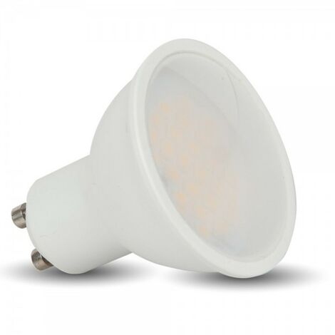 LED spot GU10 5W VTAC | Temperatura de color: Blanco frio 6000K