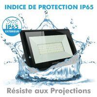 Proyector LED 100W 8500 Lumens IP65 | Temperatura de color: Blanco cálido 3000K