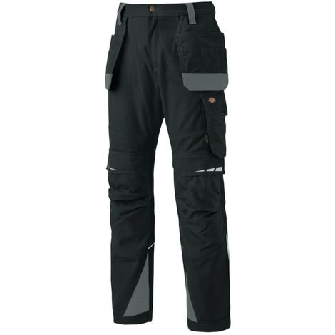 Pantalon de travail multipoches Pro Holster - DICKIES - DP1005R | Noir - 48
