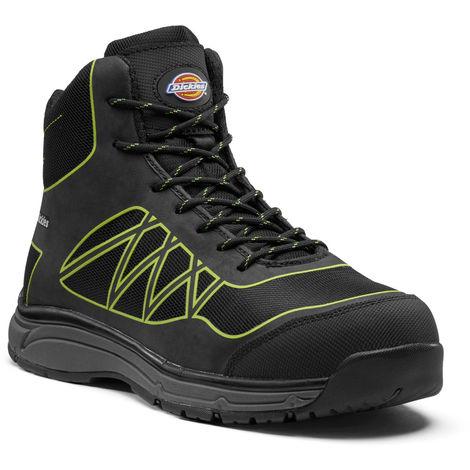 Chaussures de Sécurité Phoenix - Dickies - FC9526 | Noir/ Vert - 44