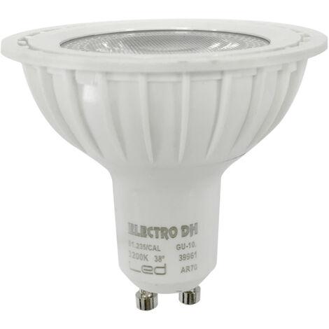Lámpara Led GU10 AR70 7W 600 Lm 6500°K 38° (Electro DH 81.235/DIA)
