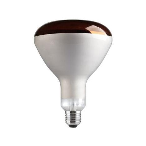 Lámpara reflectora infrarrojos cúpula roja E27 150W 125x180mm. (Tungsram 93112563)