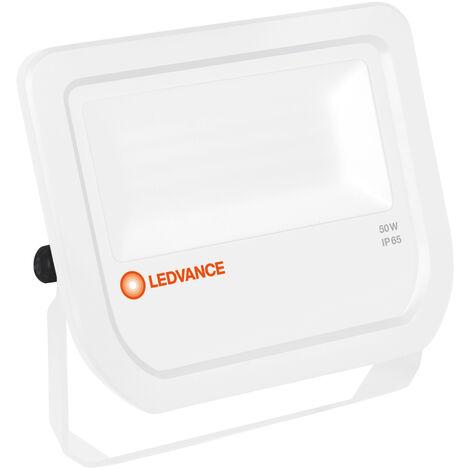 Proyector exterior Led Floodlight blanco 50W 3000°K IP65 (Ledvance 4058075810976)