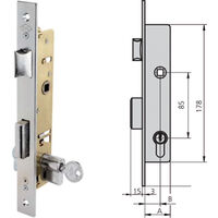 Cerradura Puerta Metalica 5512 Hz Lince