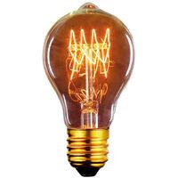 Bombilla Edison Vintage Standard E27 40W 2700°K 60x105mm. (F-BRIGHT 2603001)
