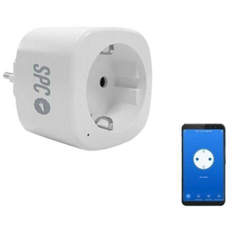 Prise Intelligente SPC 6207B WiFi Blanco