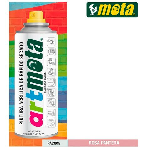 Spray rose panthere ral3015 216ml mota la21