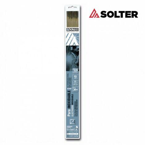 Electrode inox e316l 2.5mm blister 10 unites solter