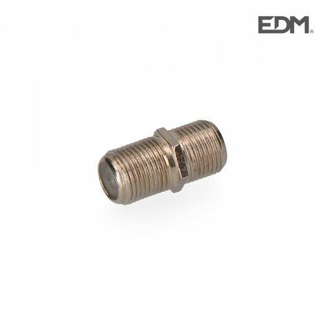Raccord coupleur connecteur f mâle - mâle sous emballage edm