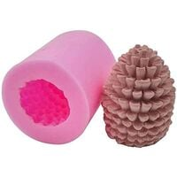 LangRay 3D Pine Cone Mold for Christmas Tree - Silicone Mold for Homemade Soap