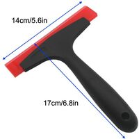 LangRay 1 x Silicone Rubber Squeegee For Car Window Film Installation Vinyl Wrapping